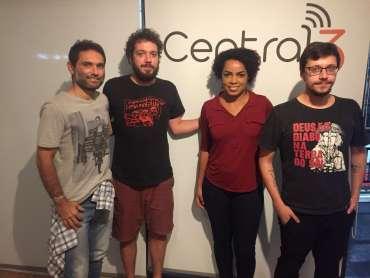 Fofão no Programa Central Cine Brasil.